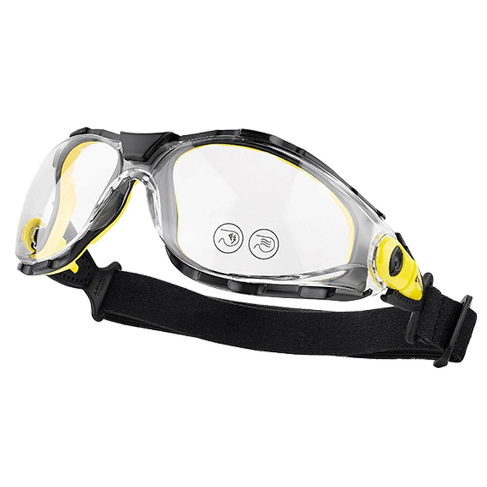 c6c944ccd6b16 Óculos de Proteção Pacaya Clear Strap - 10 un. Ref  7350 - PACAYSTIN -  Lente Policarbonato - Antirrisco e Antiembaçante - Hastes Nylon - Incolor